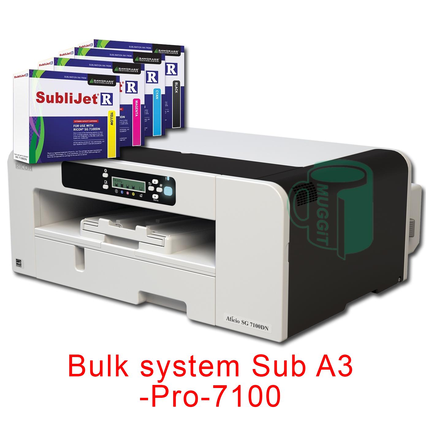 Bulk system Sub A3Lite-7100