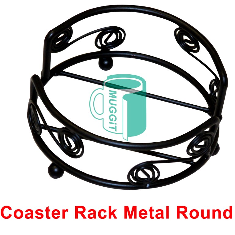 Coaster Rack Metal Round
