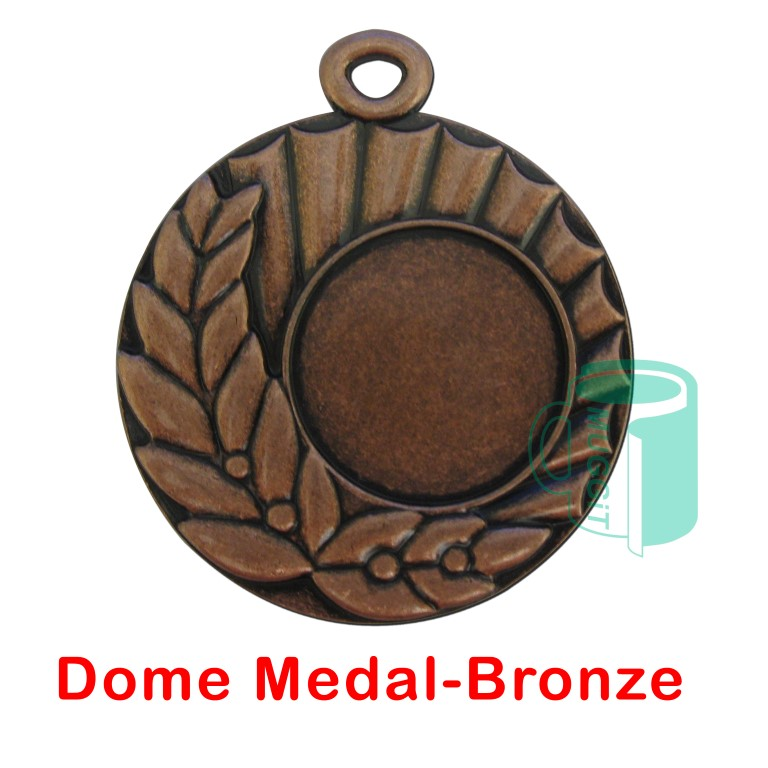 Dome Medal-Bronze