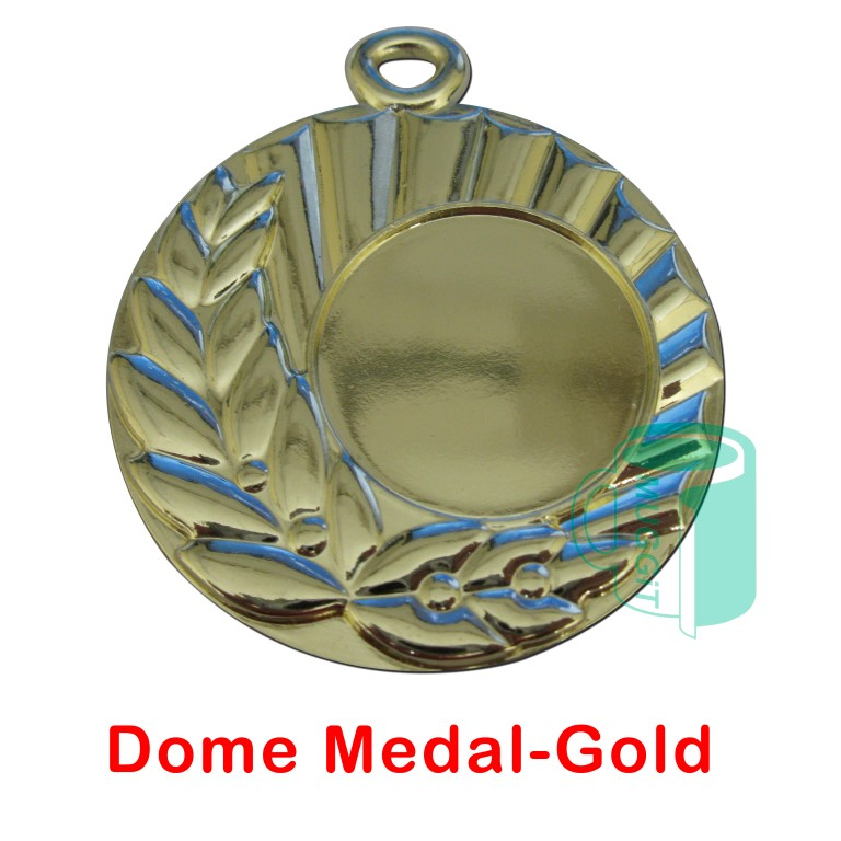 Dome Medal-Gold