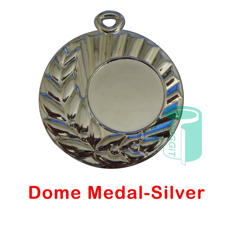 Dome Medal-Silver