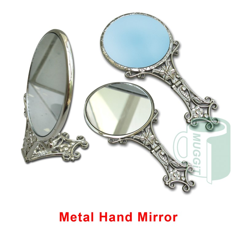 Metal Hand Mirror