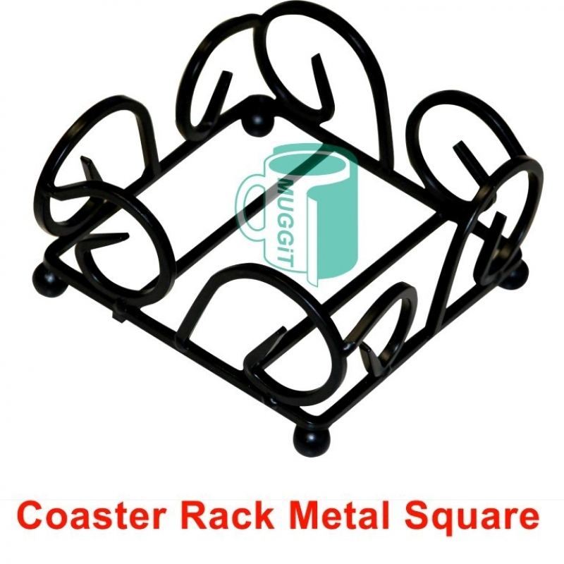 Coaster Rack Metal Square