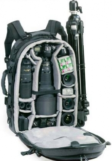 Camera bags – Lowerpro (wide range available)