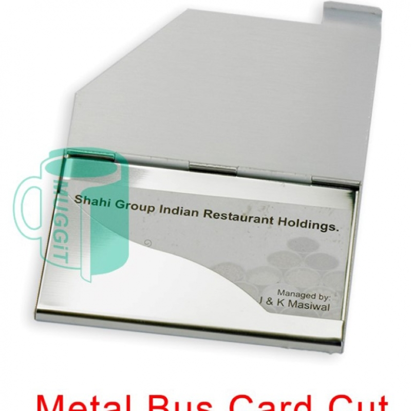 Liza\'s Creations & Kodak Express – Metal Business Card Holder