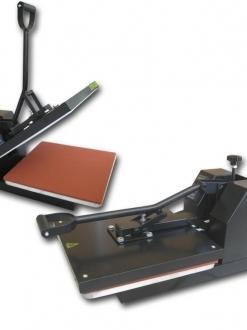 Sublimation Press – Muggit 38x38cm Econo Clamshell Press. For Printing Tshirts, wall clocks, mousepads and more !