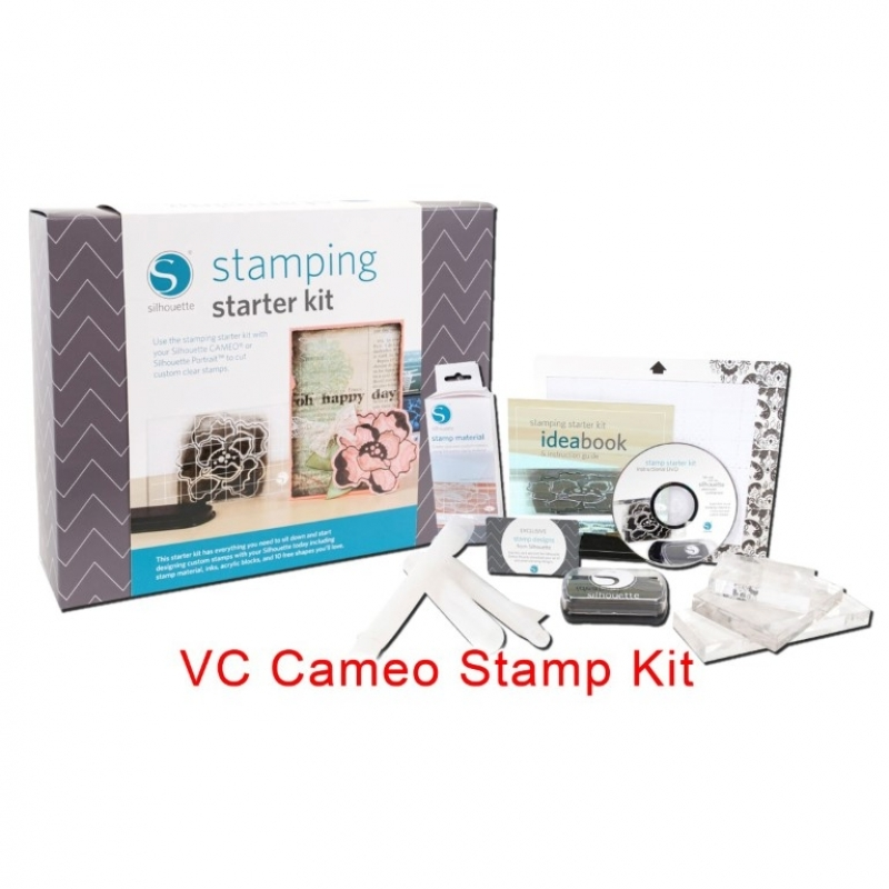 Silhouette VC Cameo Stamp Kit
